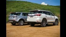 Teste CARPLACE: Toyota SW4 sobe de nível, mas vale um Discovery Sport?