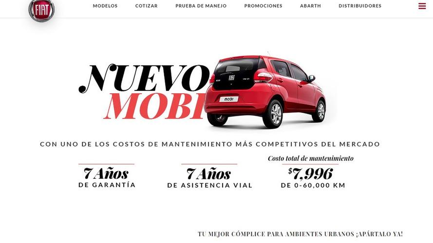 Fiat Mobi no México