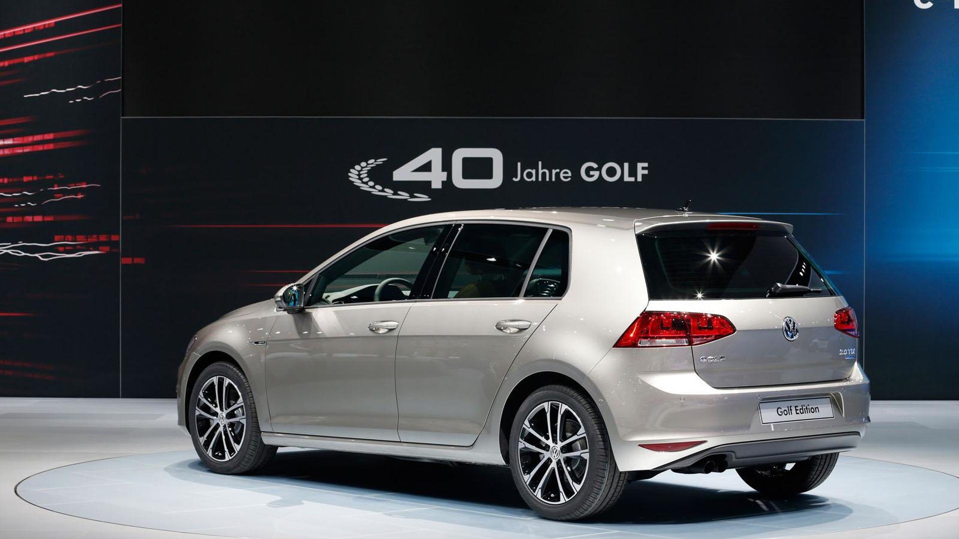 Volkswagen Golf Edition 40 Jahre