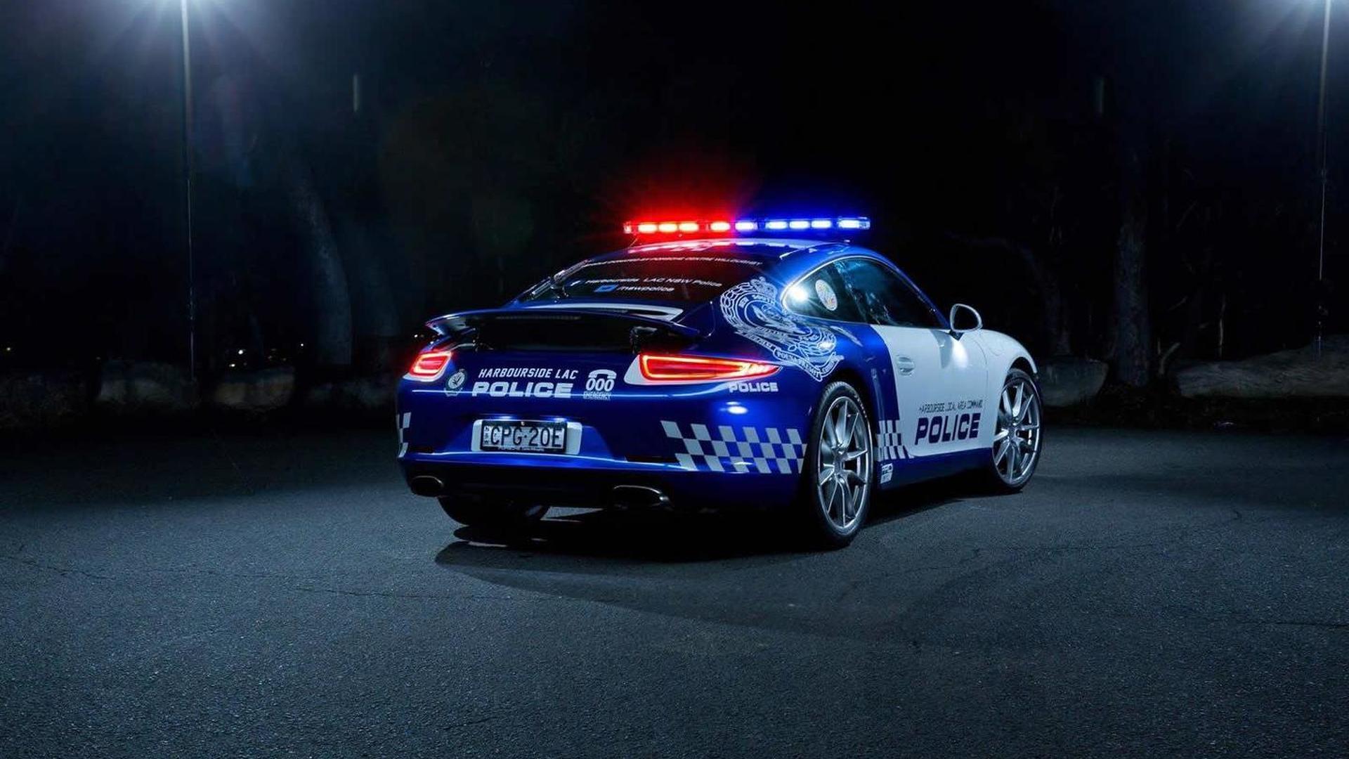 Полицейский Порш 911 в Австралии