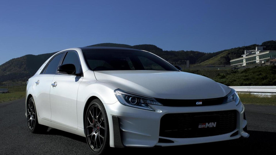 2015 Toyota Mark X GRMN unveiled