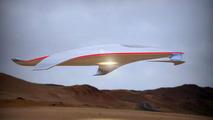 Ferrari-designed spaceship