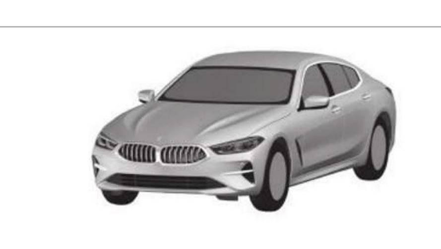 BMW 8 Serisi Gran Coupe'nin tasarım detayları ortaya çıktı