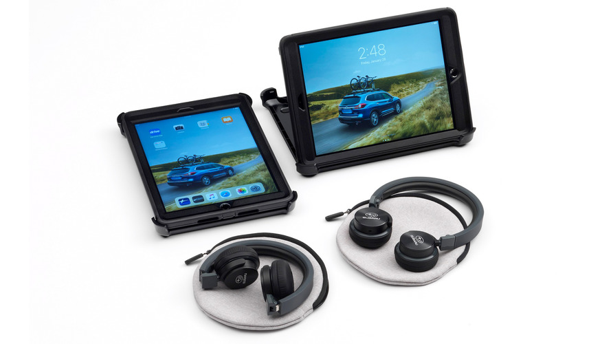 Subaru Now Selling Two iPads Instead Of Rear Entertainment System