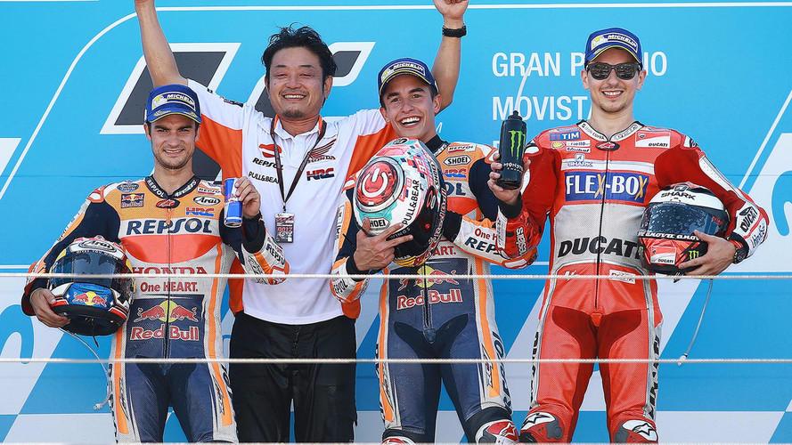 Marc Márquez gana en Aragón y se escapa al frente del Mundial de MotoGP