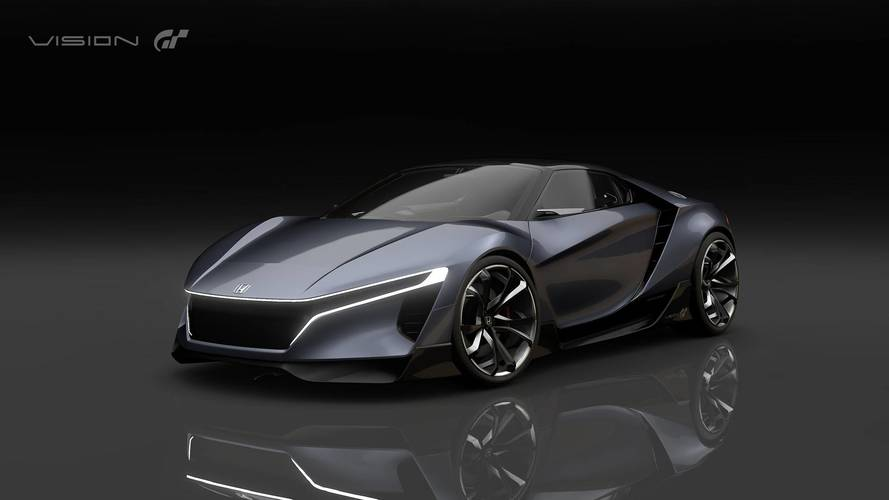El Honda Vision Gran Turismo hace su debut virtual, con más de 400 CV