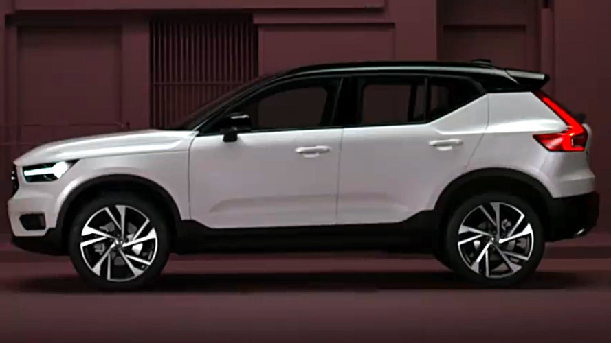 Volvo XC40 Compact SUV Reveal Just Hours Away
