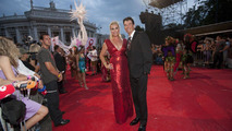 Rebecca Romijn with husband Jerry O'Connel at Life Ball MINI charity event at Vienna city hall 19.07.2010