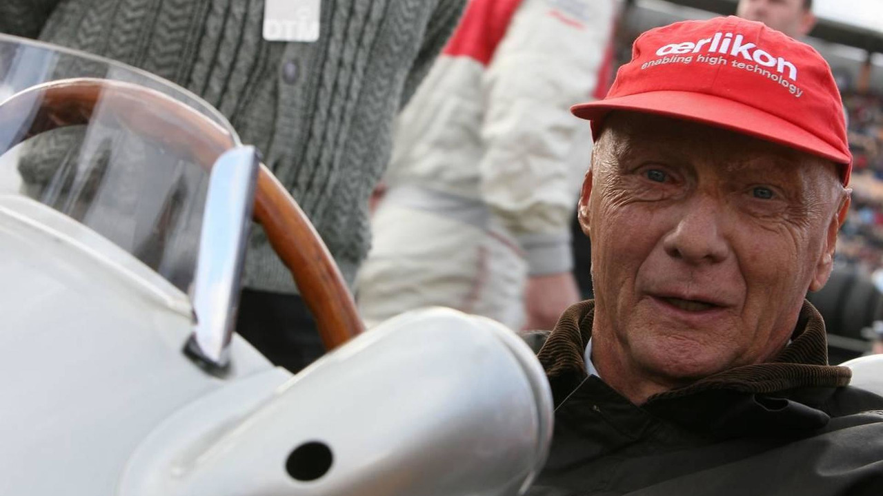 Niki Lauda (AUT) - DTM 2009 at Hockenheimring, 25.10.2009 Hockenheim, Germany