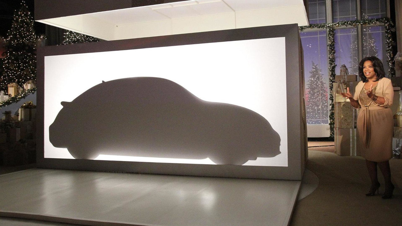 2012 Volkswagen Beetle teased on the Oprah Winfrey Show 22.11.2010