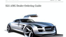 Mercedes-Benz SLS AMG Gullwing US dealer ordering guide