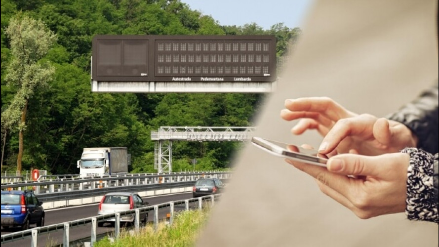 Autostrada Pedemontana, arriva l'app per pagare i pedaggi