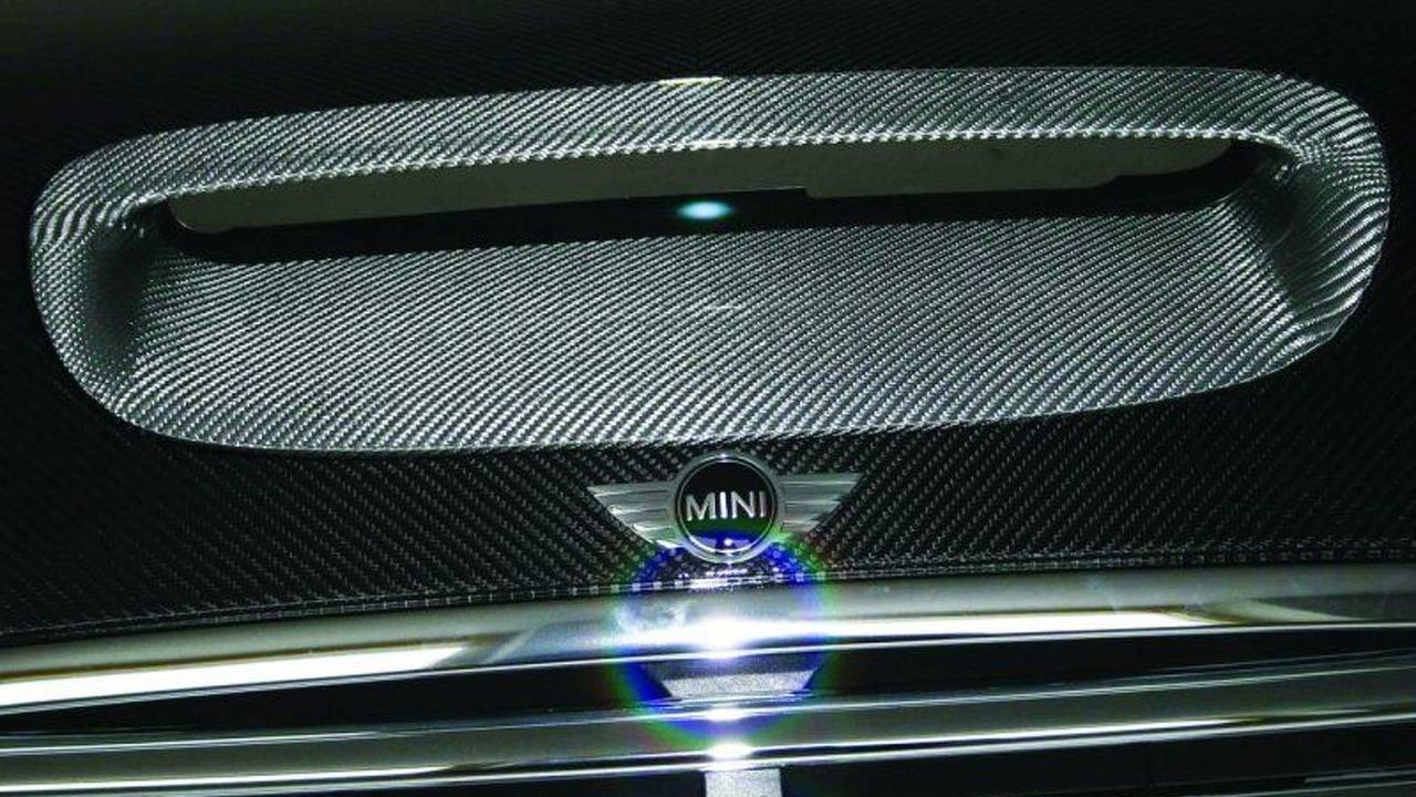 Mini carbon fiber hood by MK-Motorsport