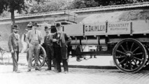 Daimler with front two-cylinder Phoenix engine