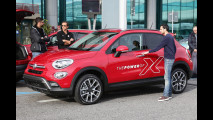 Fiat 500X con Dynamo a Roma