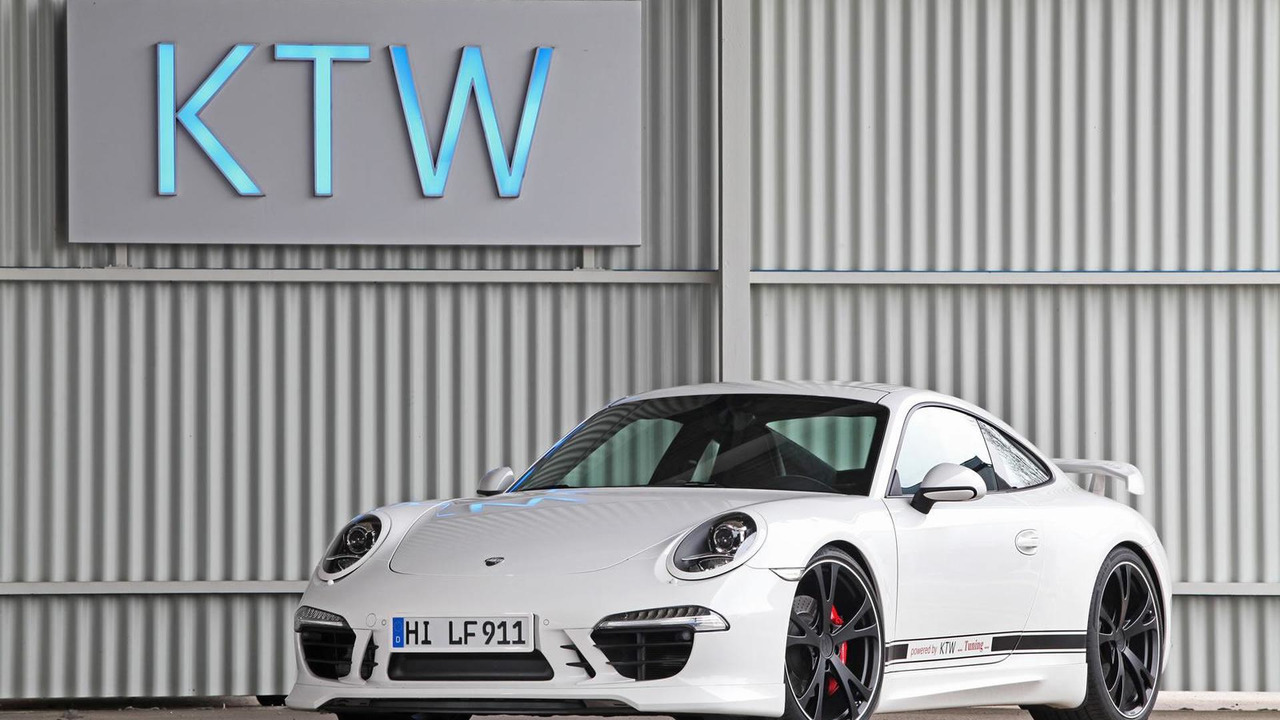 Porsche 911 (991) Carrera S by KTW Tuning and TechArt