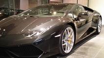 Lamborghini Huracan launch at Abu Dhabi showroom