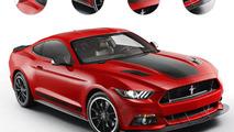 2015 Ford Mustang Mach 1 rendering