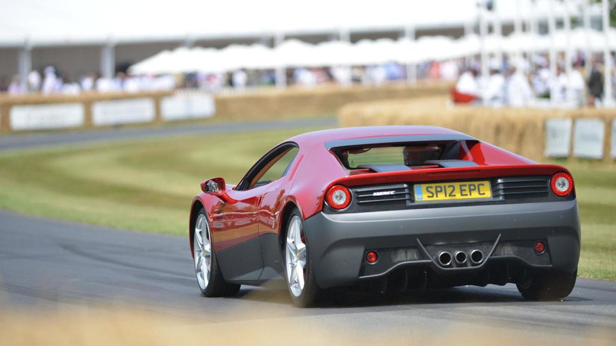 Ferrari SP12 EC gets the celebrity treatment at Goodwood