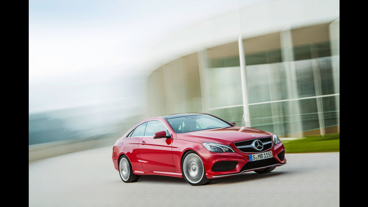 Mercedes Classe E Coupe restyling