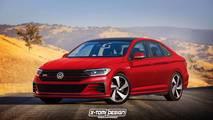 VW Jetta GLI Render