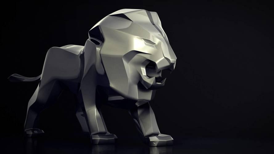 Peugeot dev bir aslan heykeli hazırlıyor