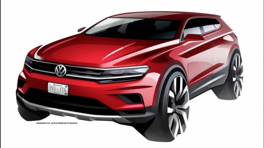 Volkswagen Tiguan Allspace, a Detroit la 7 posti