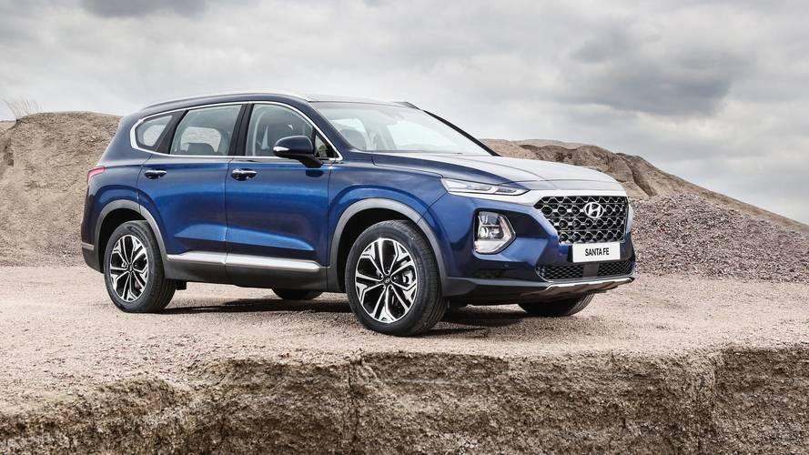 2019 Hyundai Santa Fe Debuts Handsome Look, Diesel Engine Option