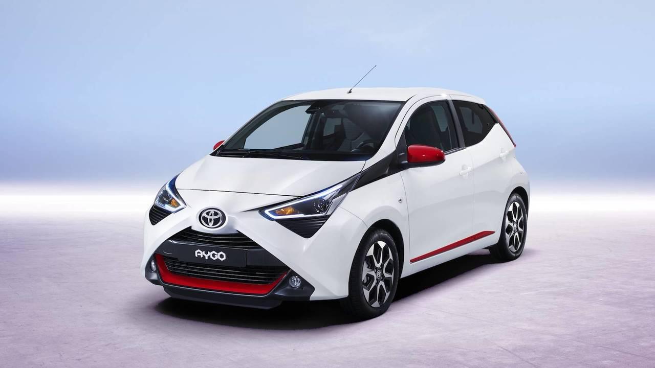 Toyota AYGO 2018 restyling