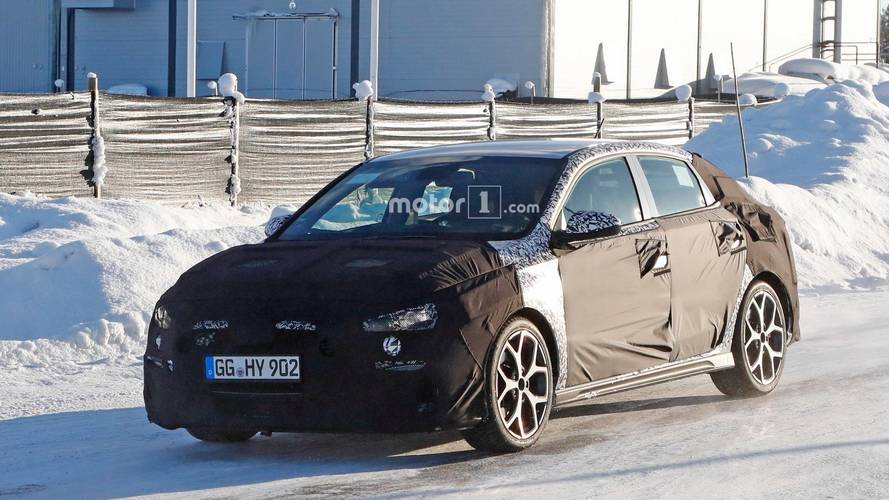 Hyundai i30 N Fastback Spied Showing More Shapely Hindquarters [UPDATE]