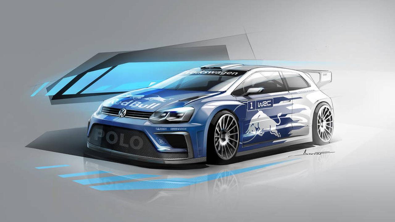2017 Volkswagen Polo WRC tasarım çalışması