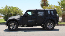 2018 Jeep Wrangler spy photo
