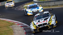 Philipp Eng, Stef Dusseldorp, Lain Wright, ROWE Racing, BMW M6 GT3