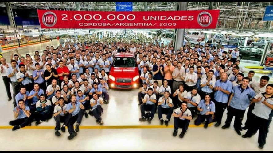 Fiat da Argentina chega a marca de 2 milhões de veículos produzidos