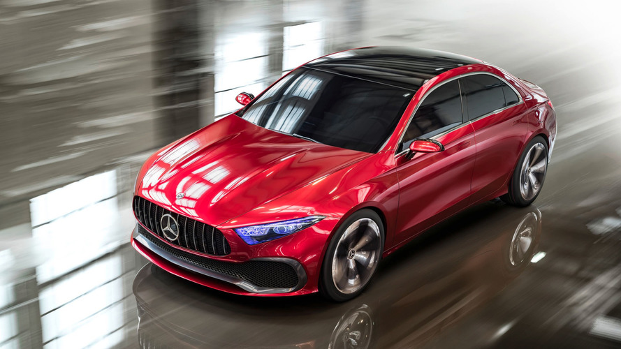 Mercedes A-Class Sedan And Four-Door AMG GT Confirmed For U.S.