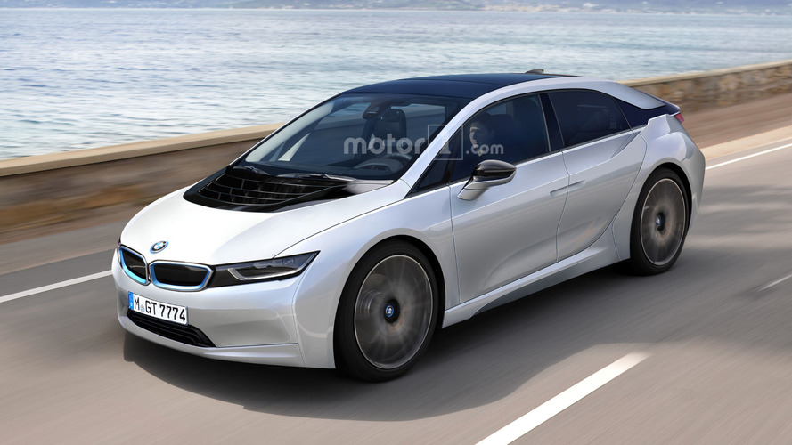 BMW i5 patent images come to life in speculative render