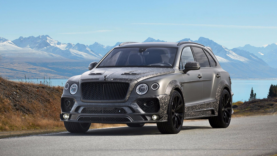 gen ve 2017 bentley bentayga black edition par mansory. Black Bedroom Furniture Sets. Home Design Ideas