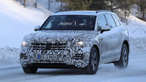 2018 Volkswagen Touareg spy photo