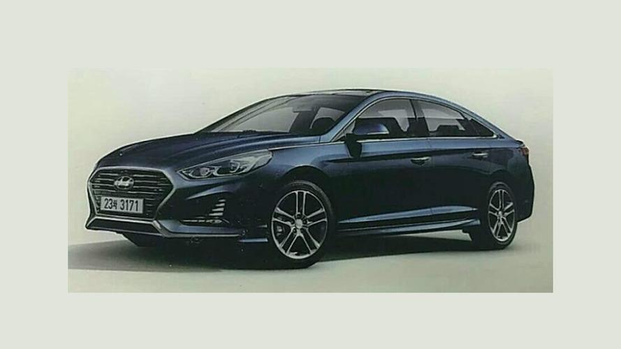 Vazou! - Hyundai Sonata 2018 aparece em primeira imagem