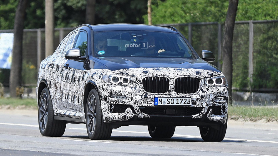 New BMW X4 spy photos