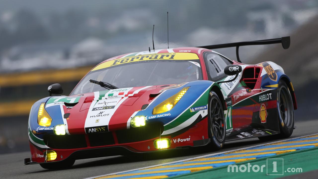 #71 AF Corse Ferrari 488 GTE- Davide Rigon, Sam Bird, Andrea Bertolini