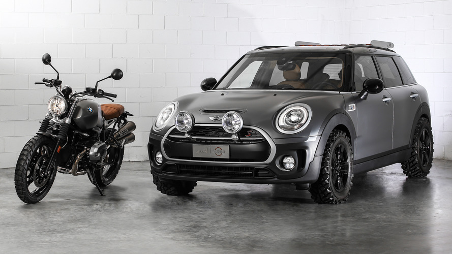 Mini Clubman All4 Scrambler concept bows in Italy