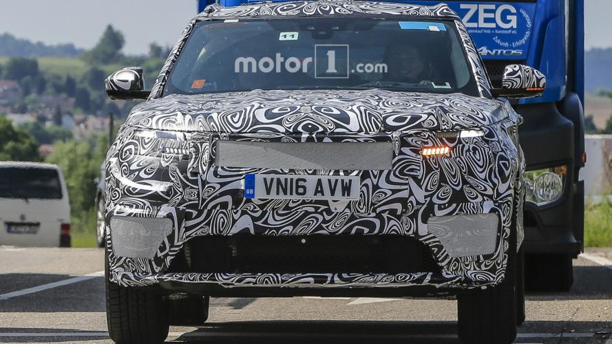 Range Rover Sport Coupe spy photos 6.13.2016