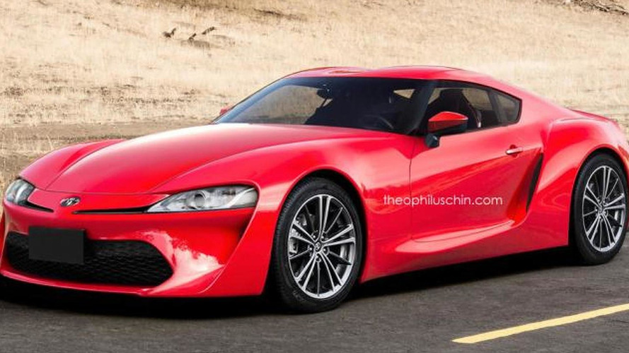Next generation Toyota Supra and  Nissan 370Z rendered