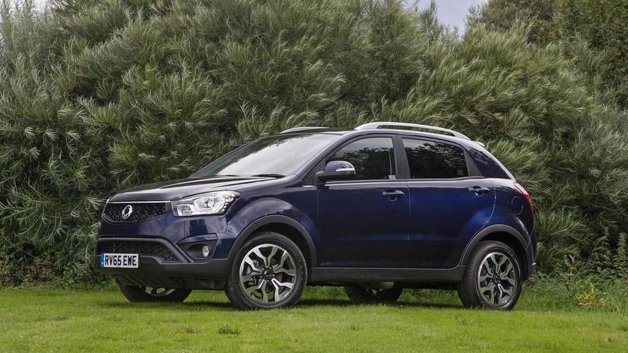 SsangYong Korando receives new six-speed auto and 178 PS 2.2-liter diesel engine