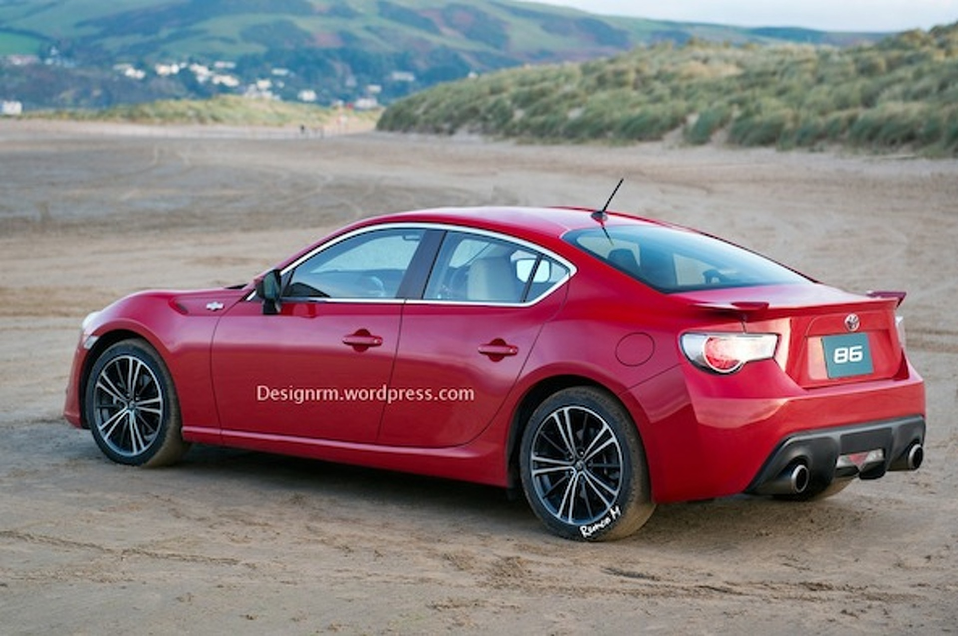 Toyota GT 86 (Scion FR-S) Gets the Four Door Treatment