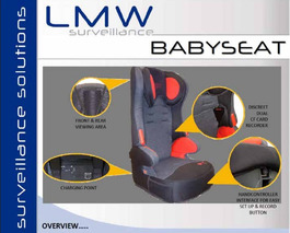 This High-Tech Car Seat is Spying On You