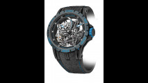 Excalibur Spider Skeleton Automatic Pirelli bianco e blu
