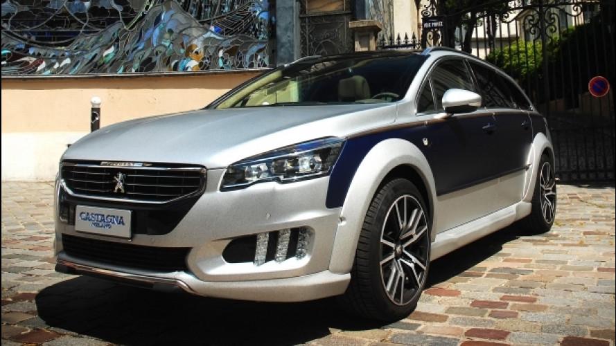Peugeot 508 RXH, Castagna fa il bis