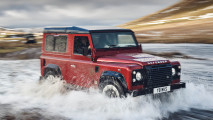 Sondermodell Land Rover Defender V8 Works mit 405 PS